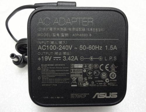 Sạc laptop Asus Vuông 19V-3.42A chân thường